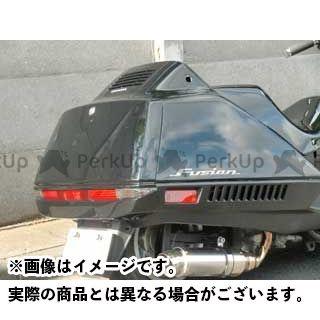 MOTO SERVICE MAC フュージョン カウル・エアロ ZERO リアアンダーカウル(白ゲル) フュージョン モトサービスマック