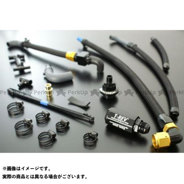 TERAMOTO ZRX1200R ZRX1200S その他エンジン関連パーツ T-REVαシステムSPフルキットZRX1200R/S カラー:シルバー テラモト