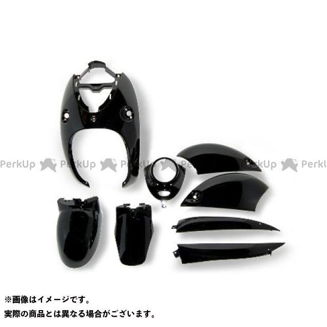 エヌビーエス ビーノ 外装セット 4ストビーノ SA26J/SA37J 外装8点セット カラー:ブラック NBS