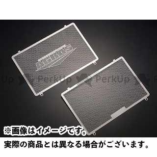 AGRAS Z1000 Z750 Z750S ラジエター関連パーツ ラジエターコアガード Aタイプ(AGRASロゴ有り) アグラス