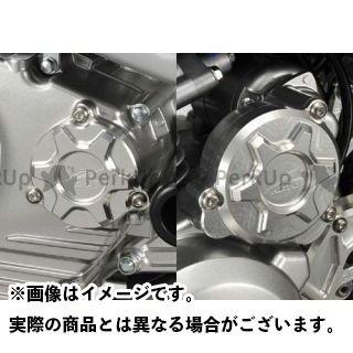 AGRAS Dトラッカー125 エンジンカバー関連パーツ カバーセット ブラック アグラス
