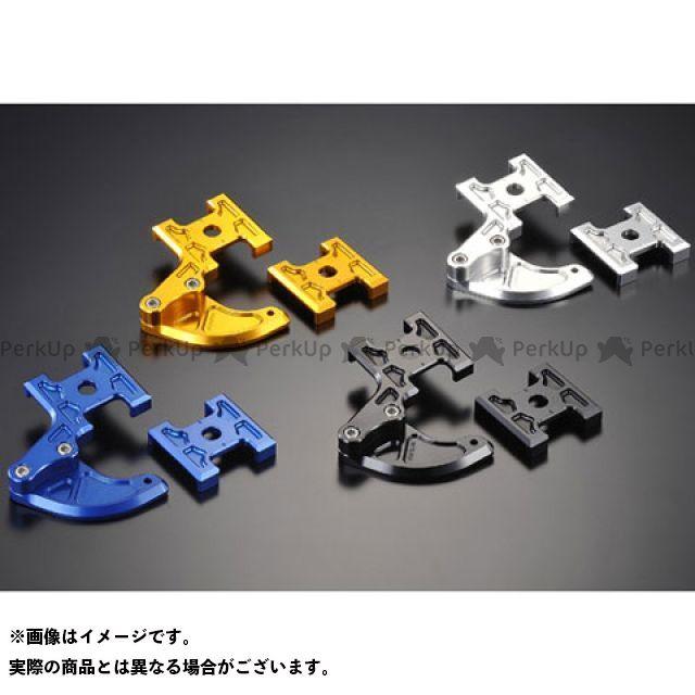 AGRAS KSR110 チェーン関連パーツ チェーンアジャスター カラー:ゴールド アグラス