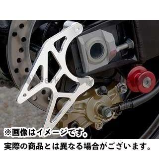 【エントリーで更にP5倍】AGRAS GSX-R1000 GSX-R600 GSX-R750 その他外装関連パーツ リアスタンドプレート カラー:ブルー アグラス