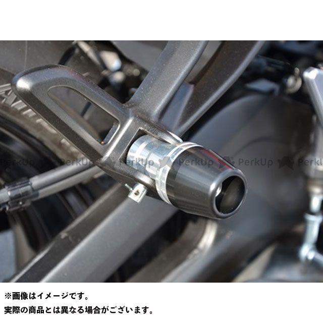 【エントリーで更にP5倍】AGRAS MT-07 YZF-R25 スライダー類 タンデムスライダー ジュラコンカラー:ブラック アグラス