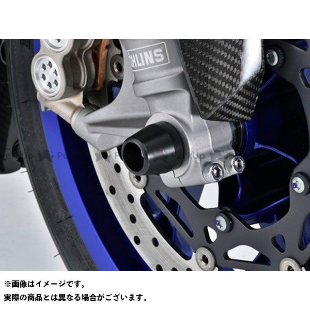 AGRAS YZF-R1 YZF-R1M その他サスペンションパーツ アクスルプロテクター コーンタイプ タイプ:アルミ カラー:ブルー アグラス