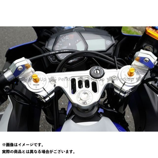 【無料雑誌付き】AGRAS YZF-R25 トップブリッジ関連パーツ トップブリッジ&ハンドルセット(レースタイプ) アグラス