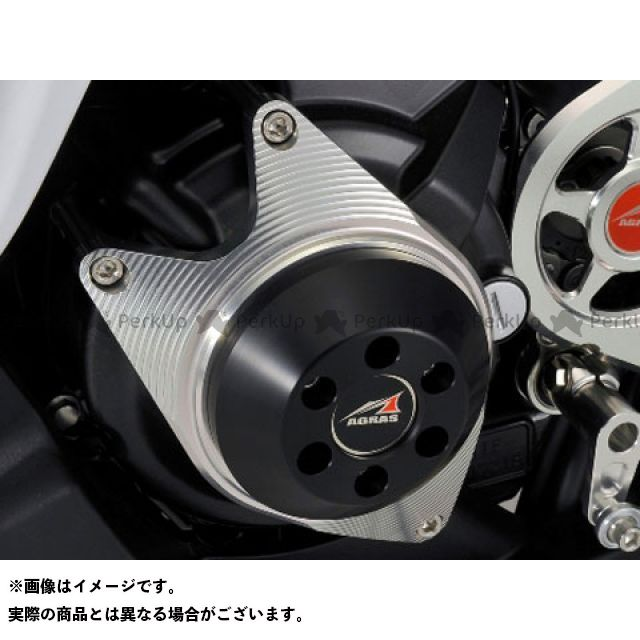 AGRAS CBR250R スライダー類 レーシングスライダー ジェネレーターC ジュラコンカラー:ホワイト アグラス