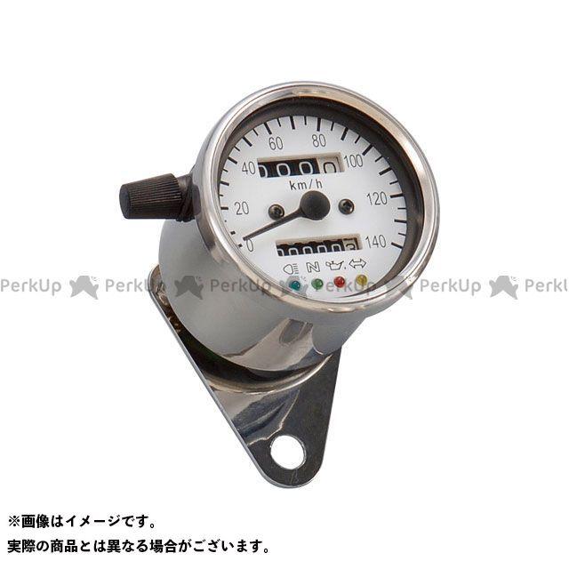 POSH Faith 汎用 スピードメーター LEDバックライト4インジケーターミニメーター(機械式) タイプ:ホワイトパネル ポッシュフェイス