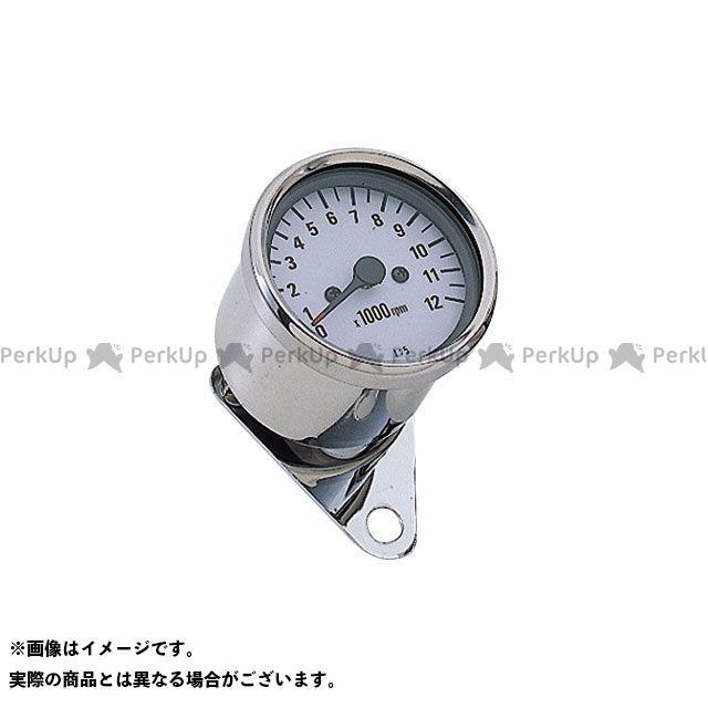 【エントリーで最大P23倍】POSH Faith タコメーター LEDバックライトミニタコメーター(電気式) タイプ:ホワイトパネル ポッシュフェイス