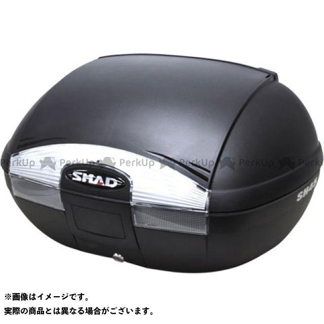 SHAD 汎用 ツーリング用ボックス SH45 トップケース 無塗装ブラック シャッド
