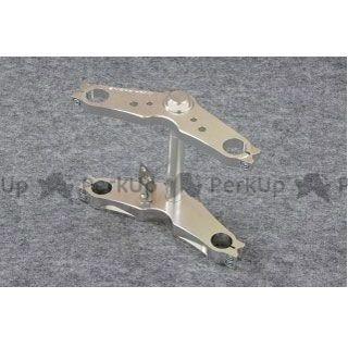 送料無料 OVER RACING モンキー トップブリッジ関連パーツ ステムキット Type-2(199-40/シルバー)