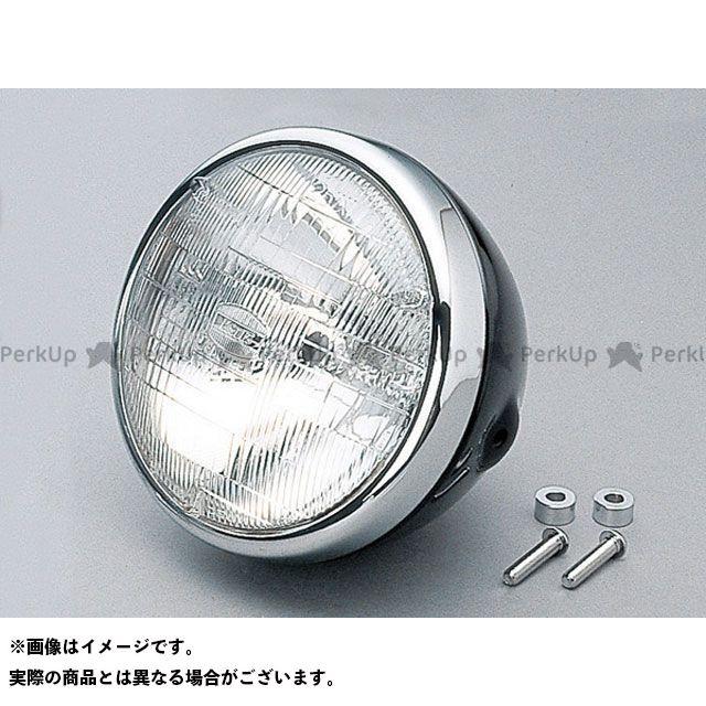 DAYTONA 汎用 ヘッドライト・バルブ ビンテージヘッドライト 本体 カラー:ブラック デイトナ