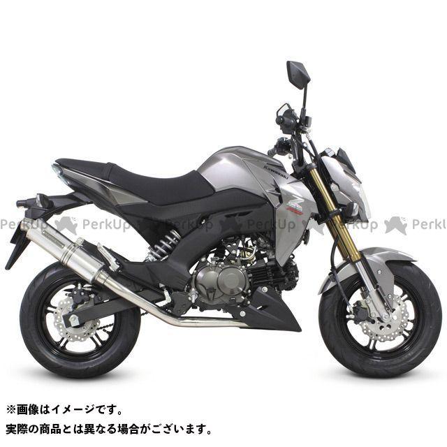 TAKEGAWA Z125プロ マフラー本体 ボンバーマフラー(政府認証) SP武川