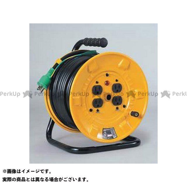送料無料 日動工業 ニチドウコウギョウ メンテナンスグッズ NP-E34 電工ドラム(15A・30M) アース付