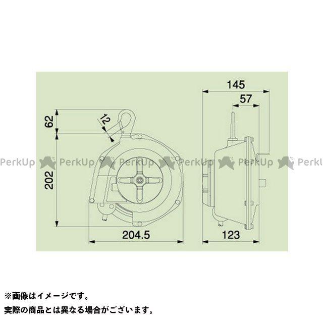 送料無料 HATAYA ハタヤ エアーツール DBA-13 エヤーバランサー 8.5MMX12MMX1.5M