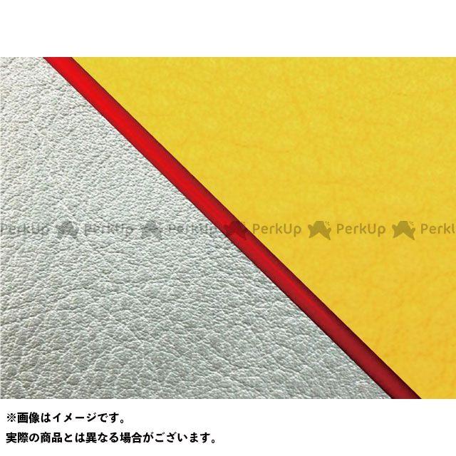 送料無料 Grondement W650 シート関連パーツ W650(99年 EJ650A1/C1) 国産シートカバー 張替 イエロー シルバーライン 赤パイピング