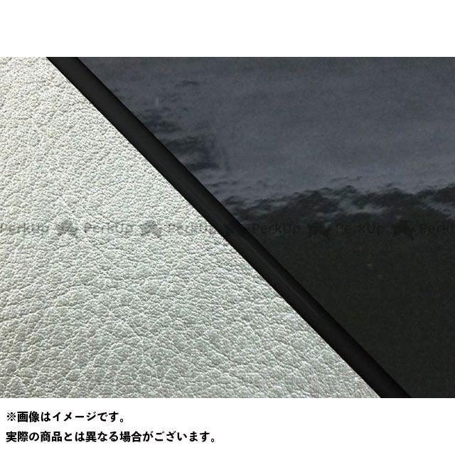 Grondement W650 シート関連パーツ W650(99年 EJ650A1/C1) 国産シートカバー 張替 エナメルブラック ライン:シルバーライン 仕様:黒パイピング グロンドマン
