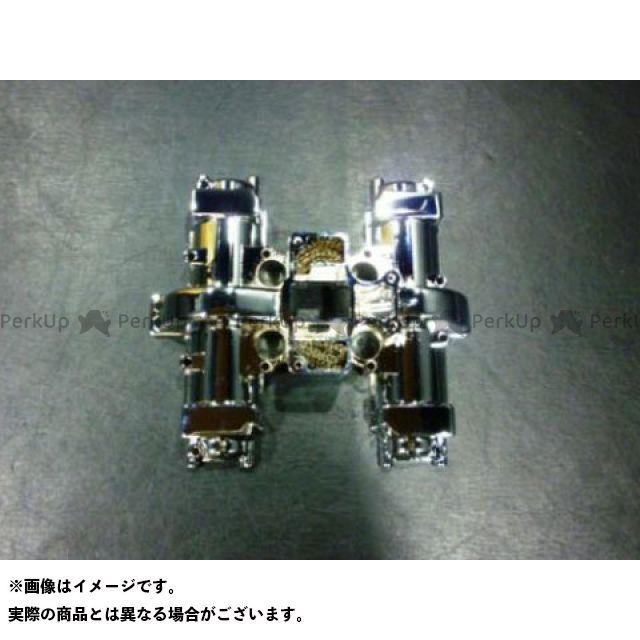 【無料雑誌付き】MADSTAR GS400 ドレスアップ・カバー S-530 メッキシリンダーヘッドカバー 下部 マッドスター