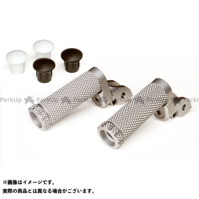 【無料雑誌付き】MotoCRAZY ステップ SBKアルミステップR-8Pキット 21mm(8ポジション) カラー:ホワイト モトクレイジー