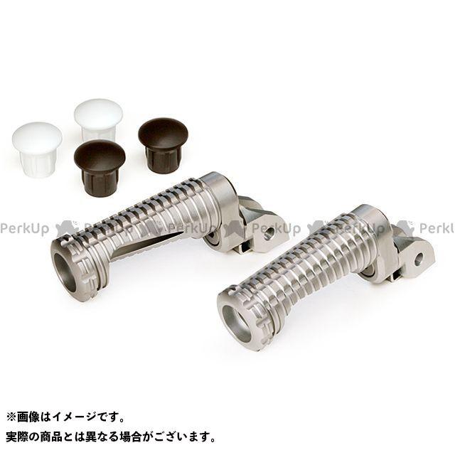 【無料雑誌付き】MotoCRAZY ステップ SBKアルミステップRC-8Pキット 15mm(8ポジション) カラー:ホワイト モトクレイジー