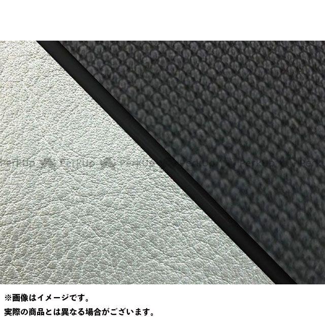 Grondement W650 シート関連パーツ W650(99年 EJ650A1/C1) 国産シートカバー 張替 スベラーヌブラック ライン:シルバーライン 仕様:黒パイピング グロンドマン