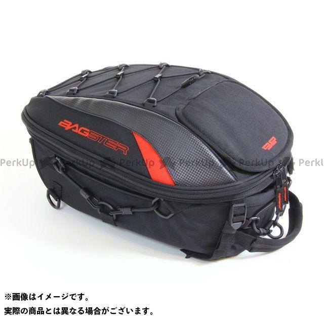 バグスター BAGSTER ツーリング用バッグ シートバッグ SPIDER 15-23L ブラック/レッド