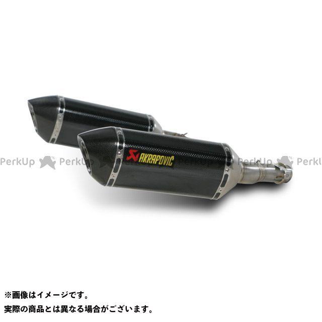 AKRAPOVIC ニンジャ1000・Z1000SX Z1000 マフラー本体 スリップオンマフラー e1 2本出し(ヘキサゴナルカーボン) アクラポビッチ