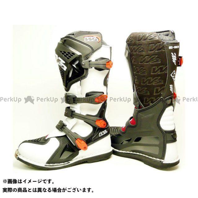 クリッピングポイント CLIPPING POINT オフロードブーツ バイクシューズ・ブーツ CLIPPING POINT オフロードブーツ W2 E-MX7 ホワイト 28.5cm クリッピングポイント
