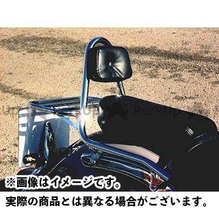 RENNTEC ドラッグスター400(DS4) ドラッグスター650 キャリア・サポート アメリカンシッシーバー シッシーバー付キャリア(クローム・メッキ) レンテック
