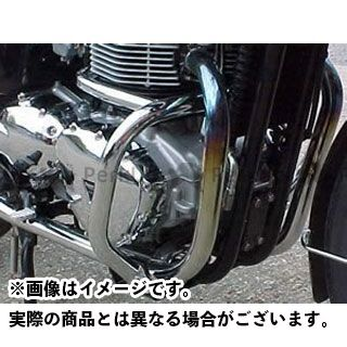 RENNTEC ボンネビル エンジンガード エンジンガード(クローム・メッキ)