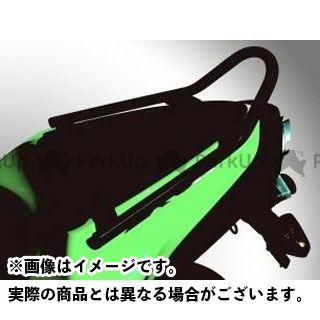 RENNTEC ニンジャZX-6R タンデム用品 グラブレール(ブラック)