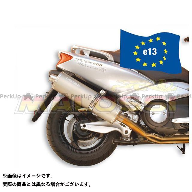 MALOSSI TMAX500 マフラー本体 EXHAUST SYS.MAXI WILD LION homologated マロッシ