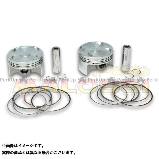 MALOSSI TMAX500 ピストン OVERS. forged PAIR of PISTONS φ66、2 pinφ 15 rect./oil rings 3-for Original cyl マロッシ