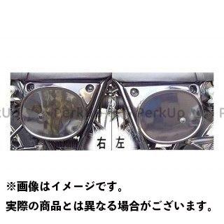 OSCAR 250TR カウル・エアロ ゼッケンサイドカバー カラー:黒ゲル オスカー