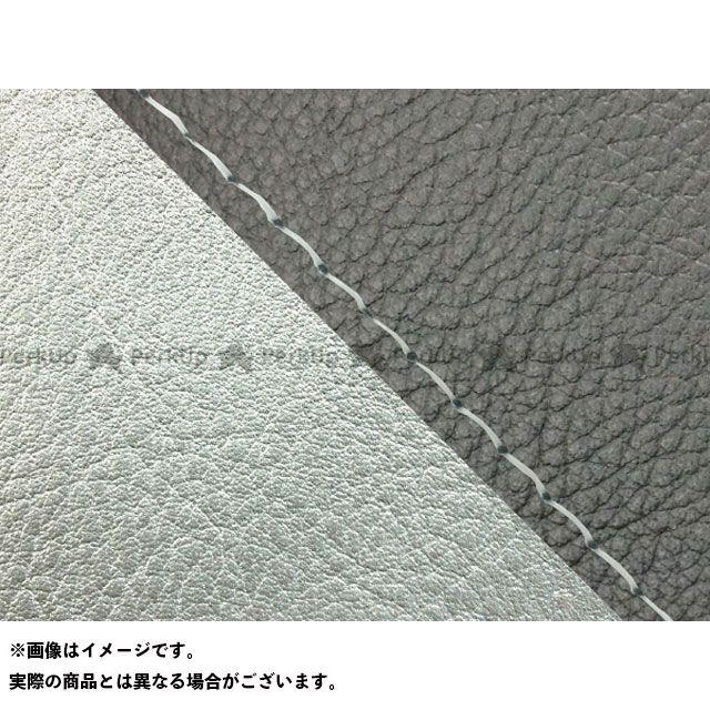 Grondement W650 シート関連パーツ W650(99年 EJ650A1/C1) 国産シートカバー 張替 黒 ライン:シルバーライン 仕様:透明ステッチ グロンドマン