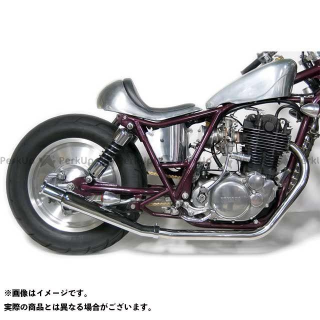 Motor Rock SR400 SR500 マフラー本体 SR400/500用 トランペットマフラー/アップ フルエキゾースト ダウン モーターロック