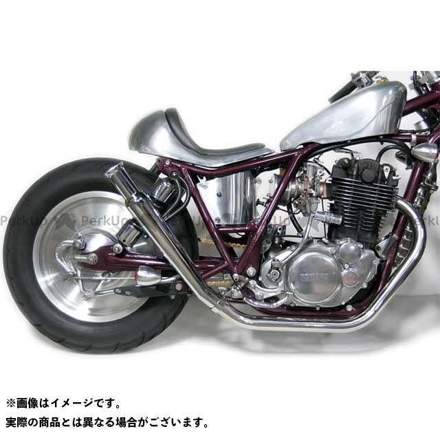 Motor Rock SR400 SR500 マフラー本体 SR400/500用 トランペットマフラー/アップ フルエキゾースト アップ モーターロック