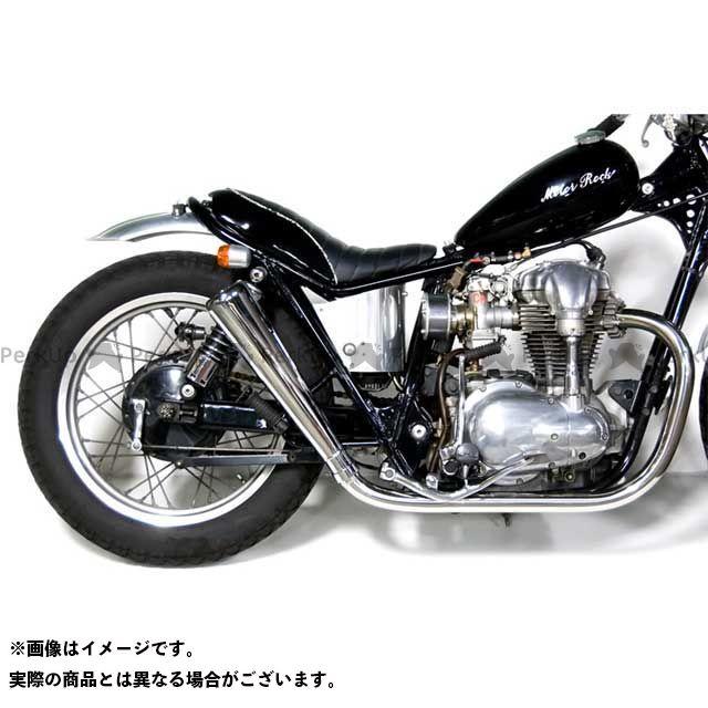 Motor Rock W400 W650 マフラー本体 W650/400用 オーバルマフラー フルエキゾースト HIGH モーターロック