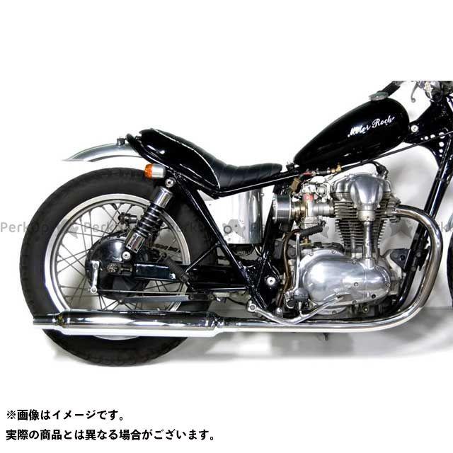 Motor Rock W400 W650 マフラー本体 W650/400用 ヴィンテージマフラー フルエキゾースト LOW