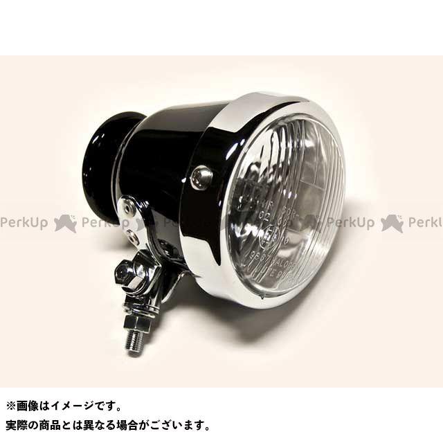 Motor Rock 汎用 ヘッドライト・バルブ 69ライト Type1 スチールリム ブラック