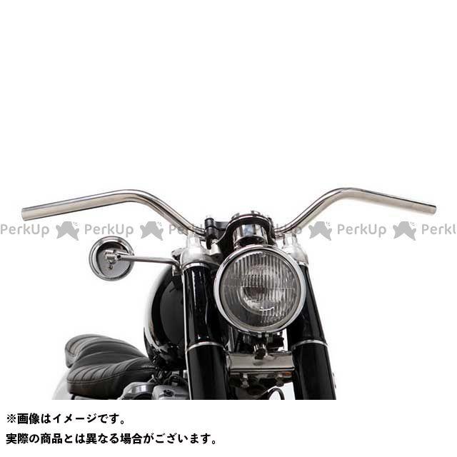 【エントリーで更にP5倍】Motor Rock 汎用 ハンドル関連パーツ 69バー ボバースタイル 1インチ 仕様:ディンプル無し カラー:ポリッシュ モーターロック