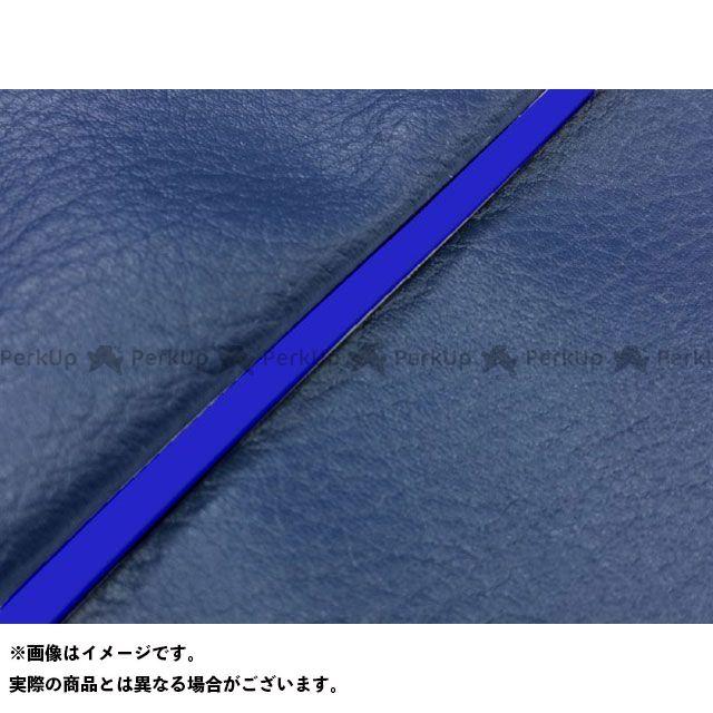 Grondement バリオス シート関連パーツ バリオス(ZR250A) 国産シートカバー ネイビー タイプ:張替 仕様:青パイピング グロンドマン