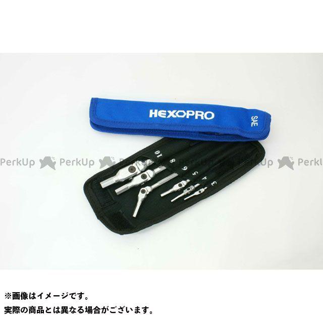 MotionPro ハンドツール HEX-PRO ピボットヘッドヘックスレンチ(インチ) モーションプロ