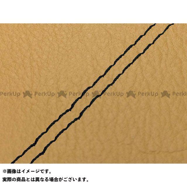 Grondement バリオス シート関連パーツ バリオス(ZR250A) 国産シートカバー 黄土色 タイプ:張替 仕様:黒ダブルステッチ グロンドマン