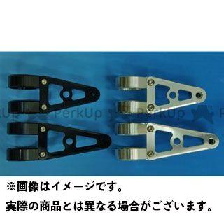 【無料雑誌付き】WOODSTOCK 汎用 電装ステー・カバー類 ヘッドライトステー Aタイプ φ43 カラー:ブラック タイプ:ロング ウッドストック