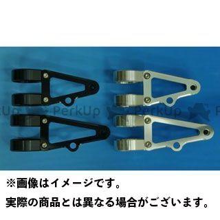 WOODSTOCK 汎用 電装ステー・カバー類 ヘッドライトステー Bタイプ φ41 ブラック ロング