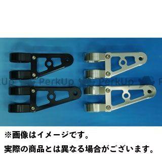 WOODSTOCK 汎用 電装ステー・カバー類 ヘッドライトステー Dタイプ φ43 ブラック ロング