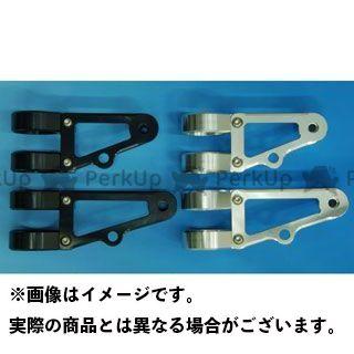 WOODSTOCK 汎用 電装ステー・カバー類 ヘッドライトステー Eタイプ φ43 ブラック ロング