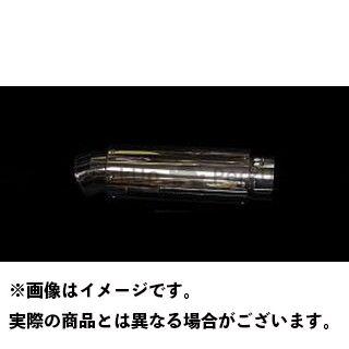 HOT LAP グランドマジェスティ250 マフラー本体 GUN FINGER ver.1(アップタイプ) キャタライザー仕様 材質:ステンレス ホットラップ