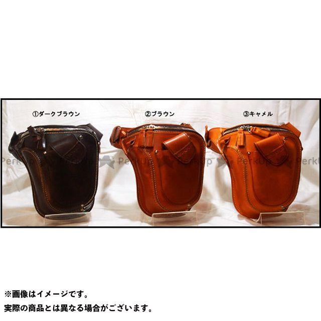 BoatRap 小物・ケース類 バイソン オイルレザー カラー:ブラウン ボートラップ
